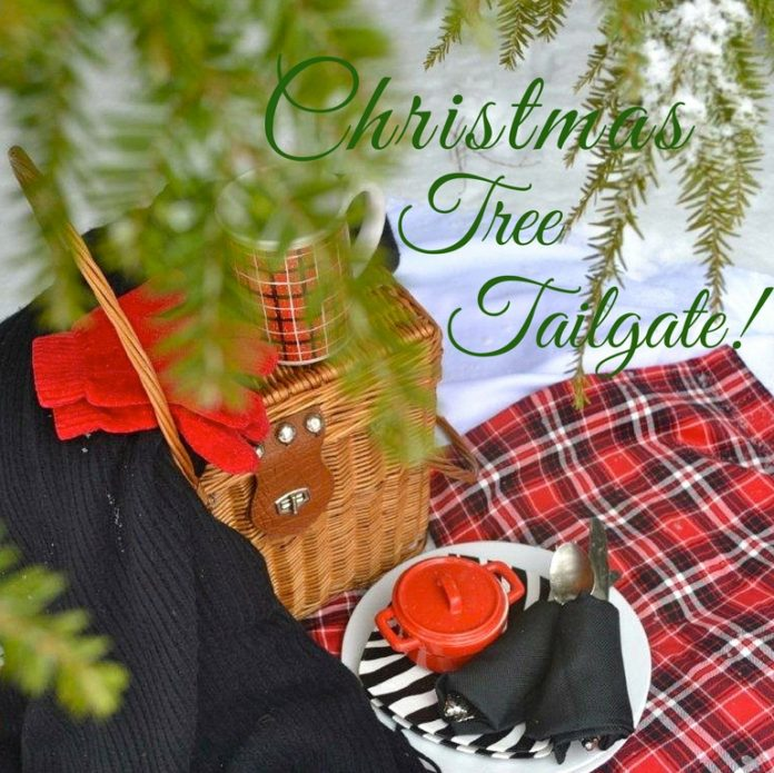 Christmas Tree Tailgate. lizbushong.com/jpg